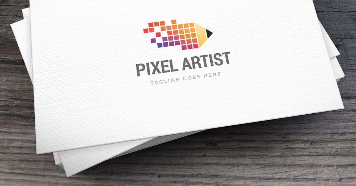 Download Pixel Artist Logo Template by empativo
