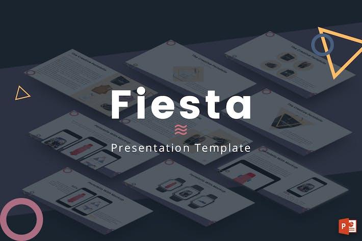 Thumbnail for Fiesta - Powerpoint Template