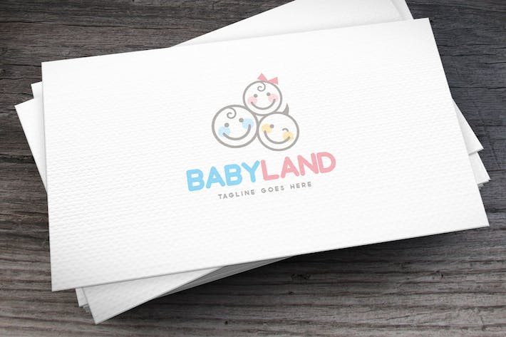 Thumbnail for Babyland Logo Template