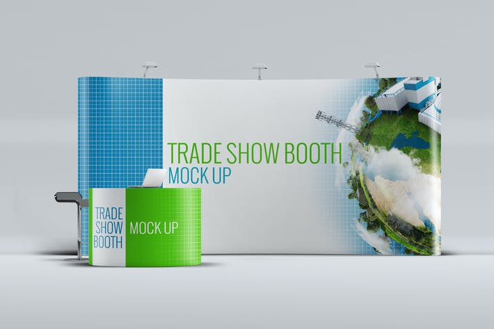 Thumbnail for Trade Show Booth Mock-up