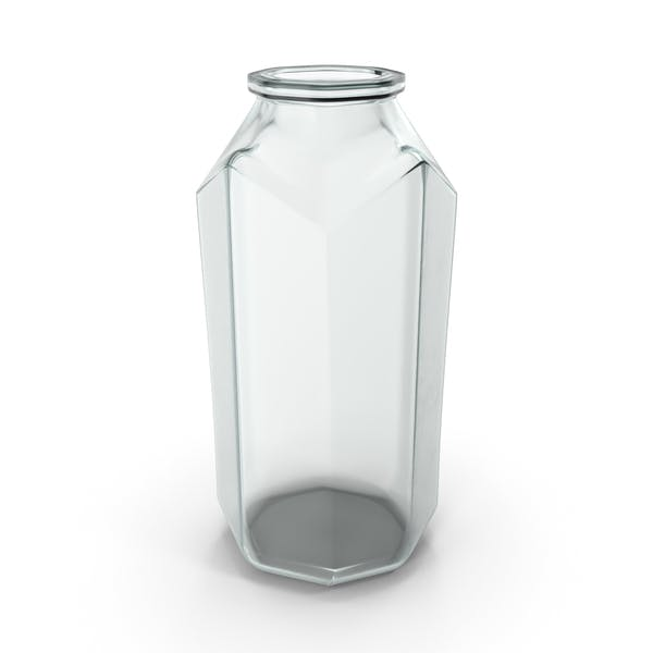 Thumbnail for Glas Octagon Jar Open