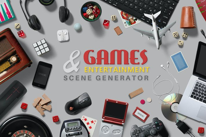 Thumbnail for Games & Entertainment Scene Creator