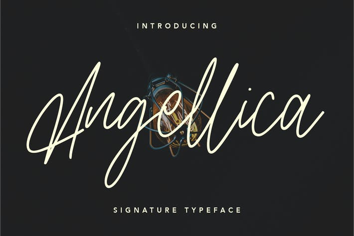 Thumbnail for Fuente de script Signature de Angellica