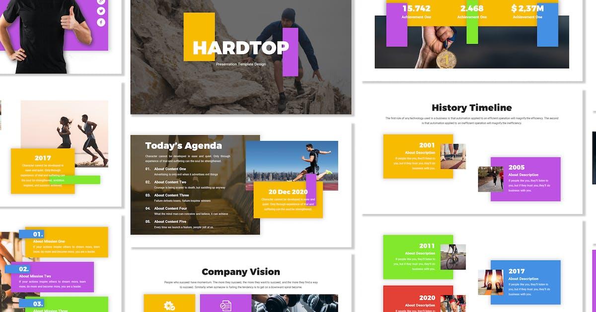 Download Hardtop - Business Template Prensentation by Blesstudio