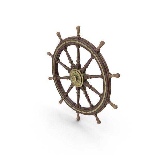 Ship's Steering Wheel