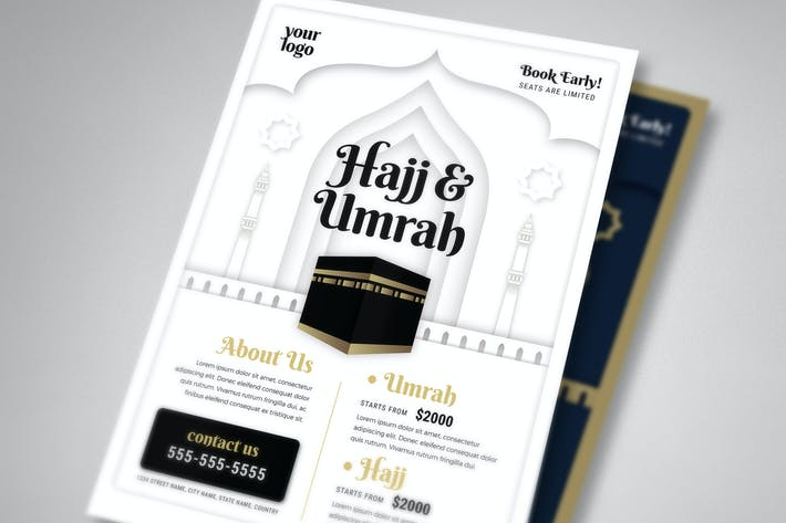 Umrah & Hajj Flyer Template