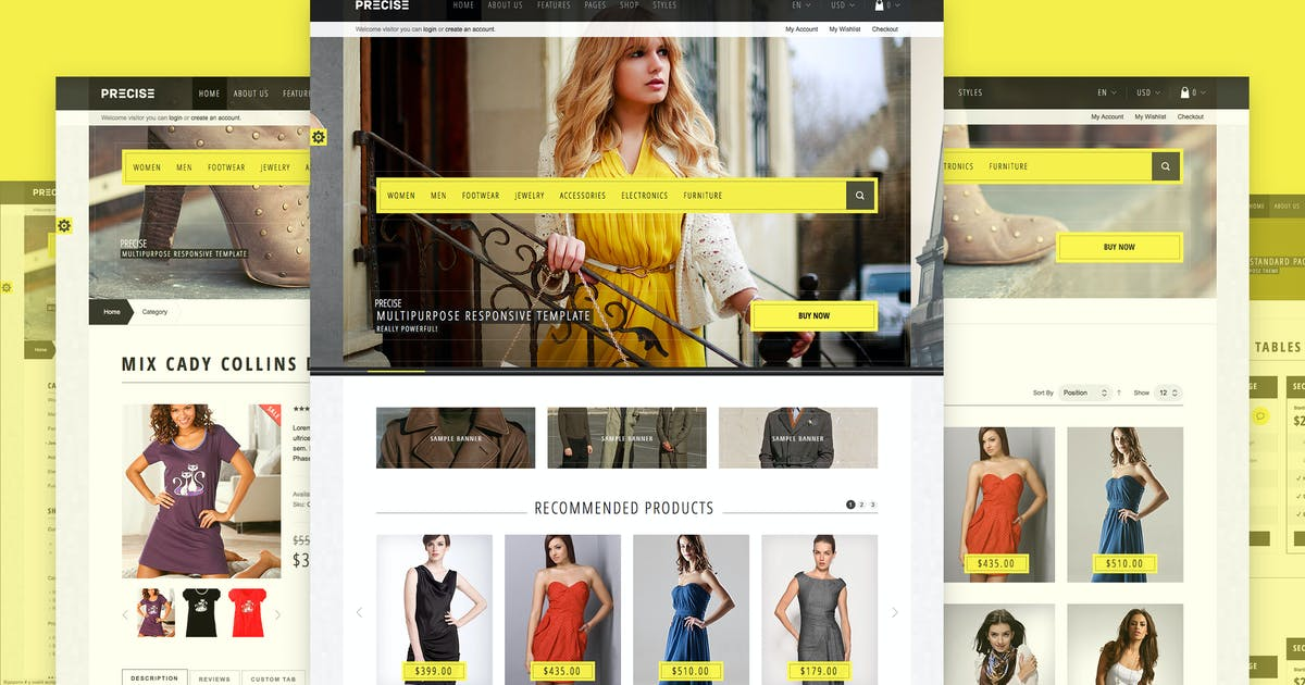 Download Precise — Multipurpose Responsive Magento Theme by WpWay_