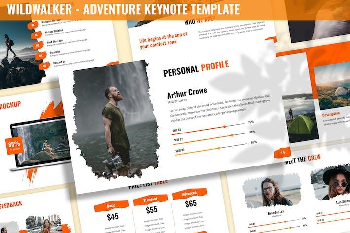 Thumbnail for Wildwalker - Adventure Keynote Template