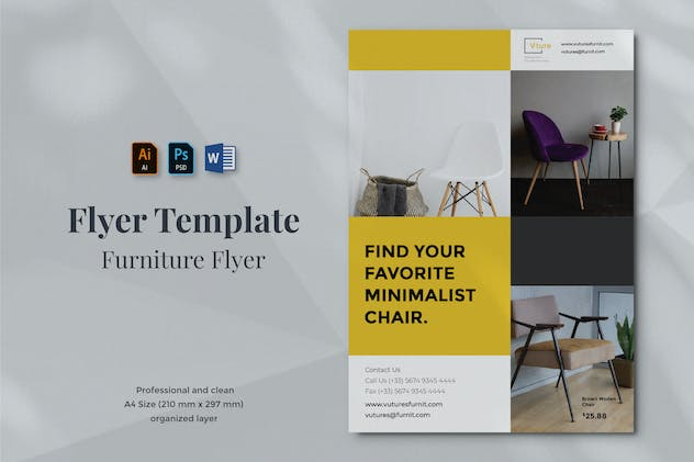 Vurnies - Furniture Flyer Template 10