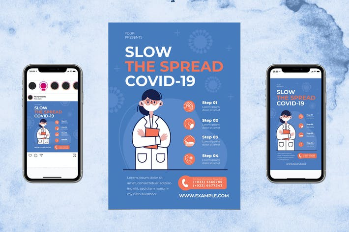 Thumbnail for Slow The Spread Covid19