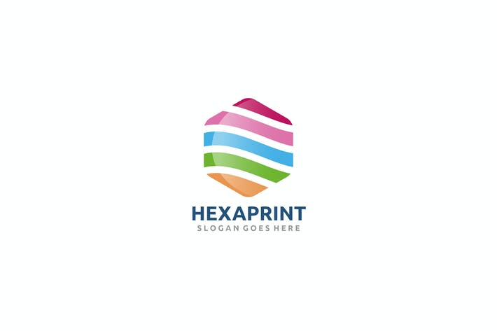 Cover Image For Hexagon Color Logo