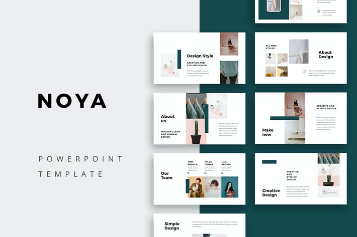 Thumbnail for NOYA - Powerpoint Template