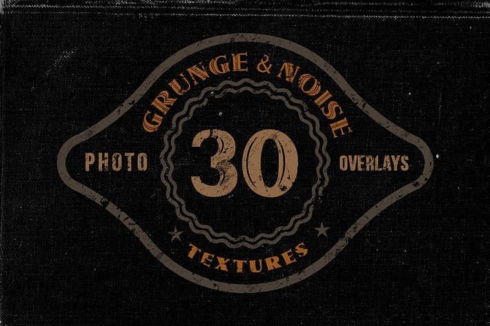 Thumbnail for 30 Noise or Grunge Overlay Textures