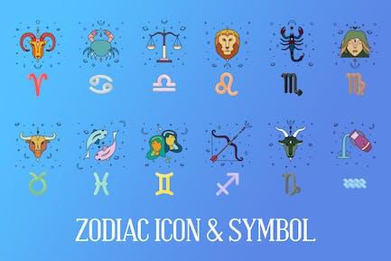 Zodiac Icon & Signs