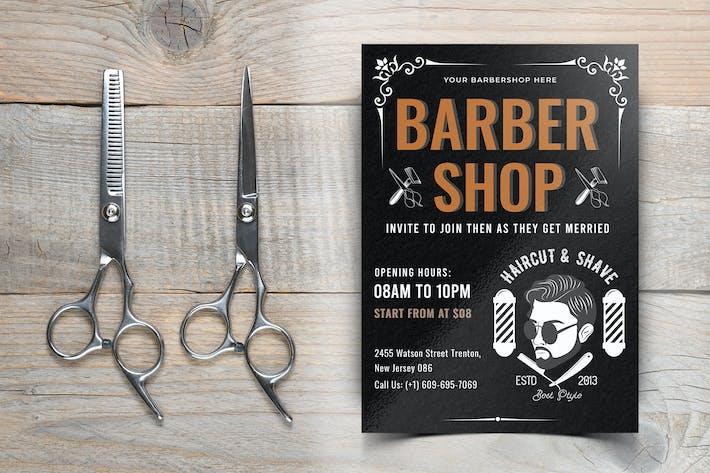Thumbnail for Barber Shop Flyer-10
