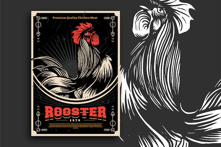 Cover Image For rooster Flyer