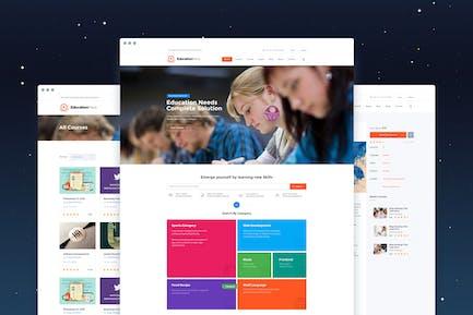 EducationPress - Complete Education PSD
