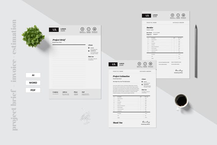 Thumbnail for Project Brief - Estimation - Invoice Vol.02