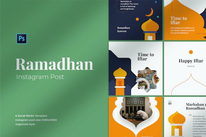 Thumbnail for Ramadhan Mubarak Social Media Post