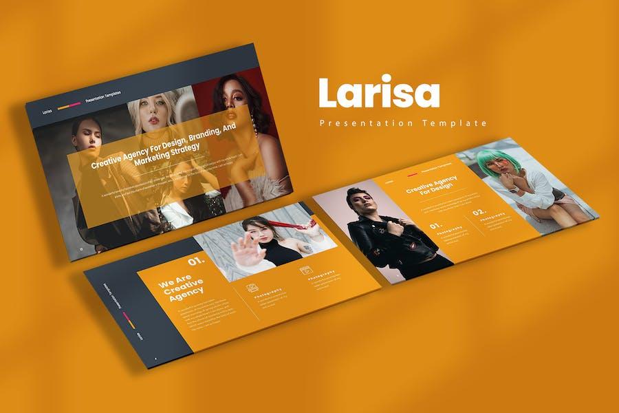 Larisa Keynote Templates