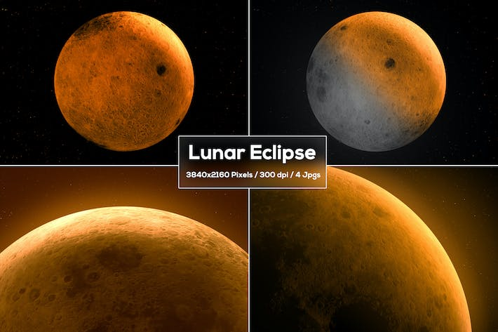 Thumbnail for Lunar Eclipse Backgrounds
