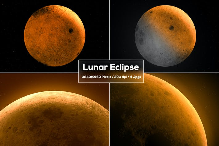 Lunar Eclipse Backgrounds