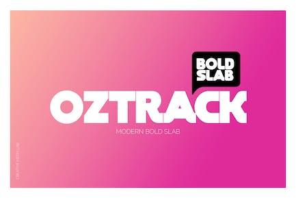 Oztrack Font