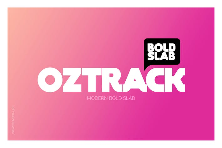 Thumbnail for Oztrack Font
