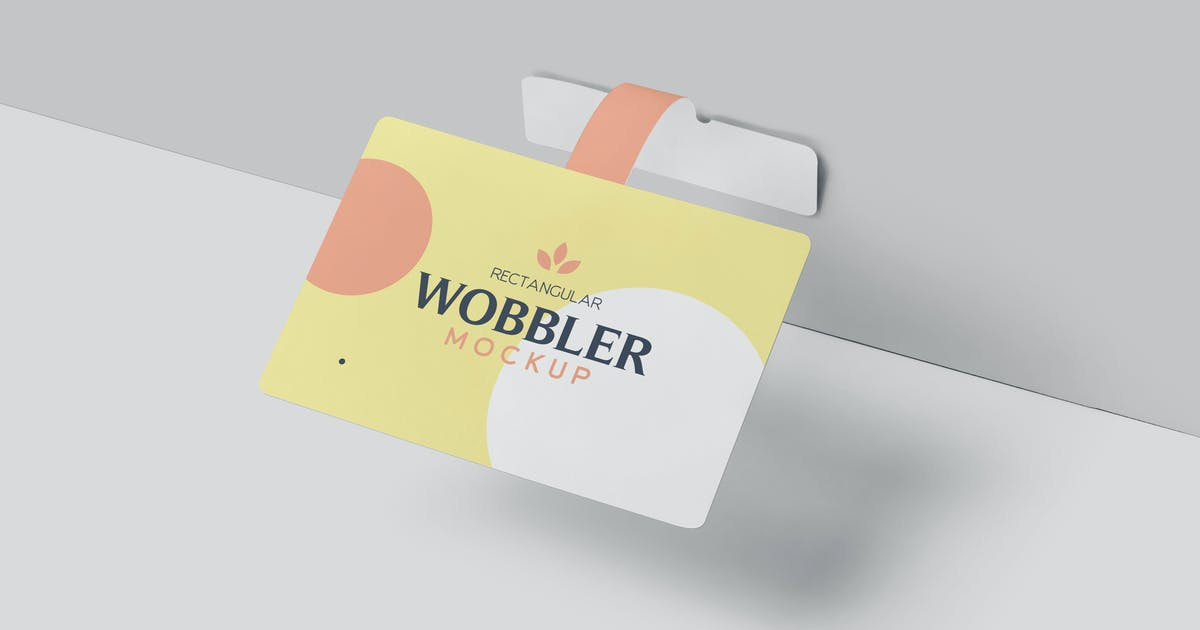 Download Rectangle Wobbler Mockups by GfxFoundry