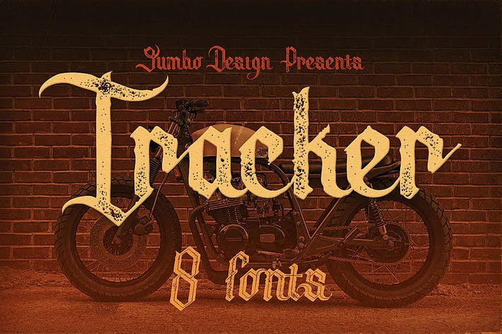 Thumbnail for Tracker - Vintage Style Font