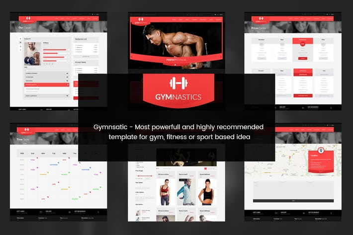 Thumbnail for Gymnastics- PSD Template