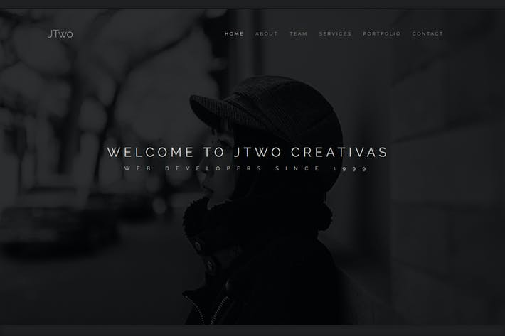 Thumbnail for JT - Creative One Page Muse Template