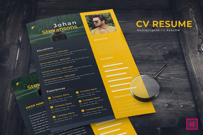 Thumbnail for Creative CV Resume Template