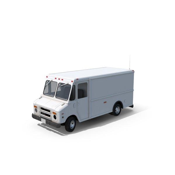 Post Office Truck Wheels Turned