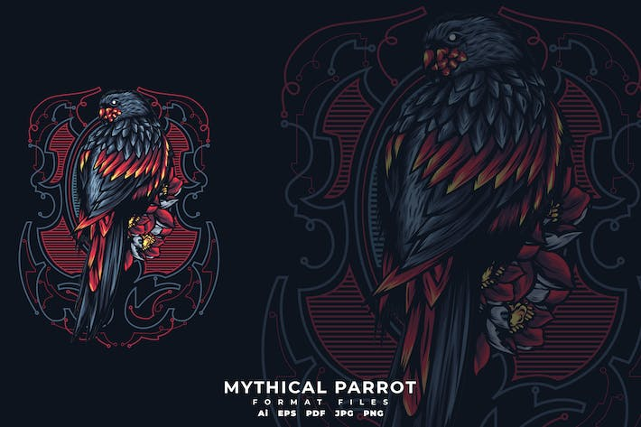 Thumbnail for Mythical Parrot