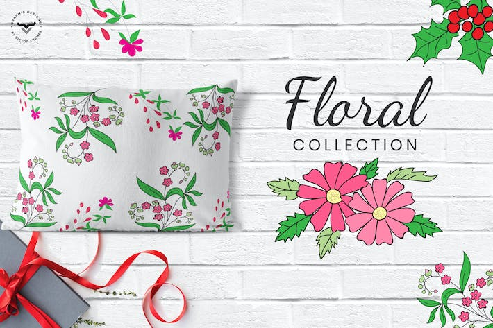 Cover Image For Floral Collections Elements