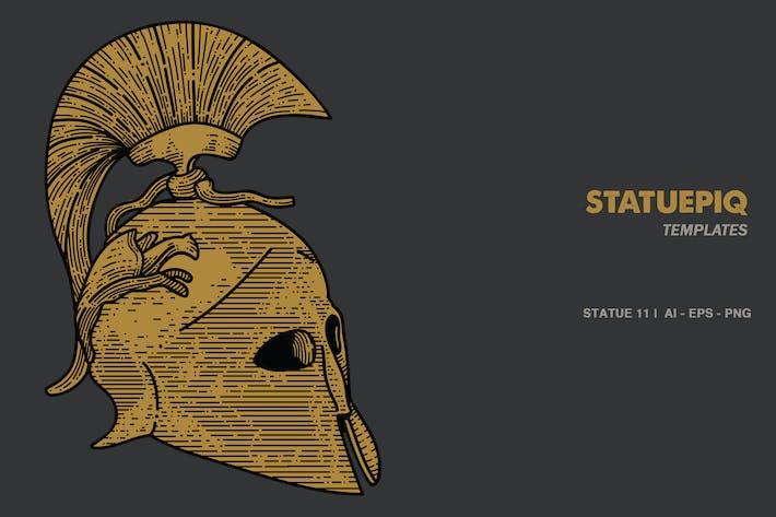 Thumbnail for Roman Helm Illusctration