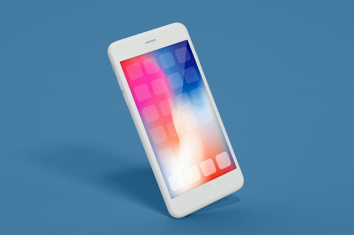 Cover Image For iPhone Mockup Multi-Layer PSD