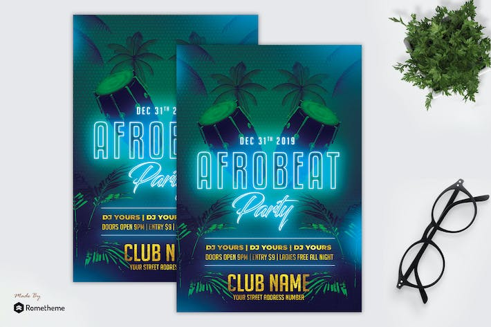 Thumbnail for AfroBeat Party - Flyer MR