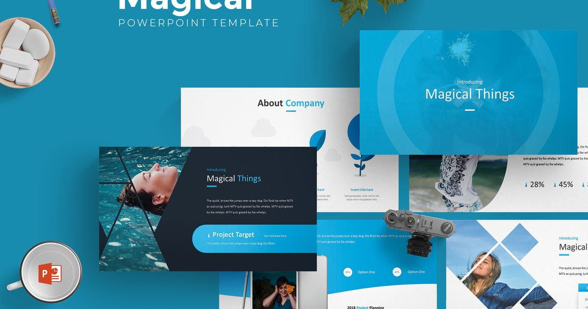 Download Magical - Powerpoint Template by aqrstudio
