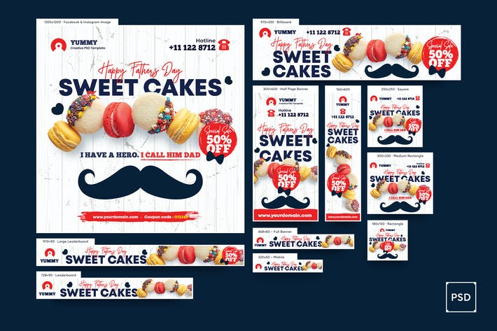 Thumbnail for Cake Shop Banner Anzeige