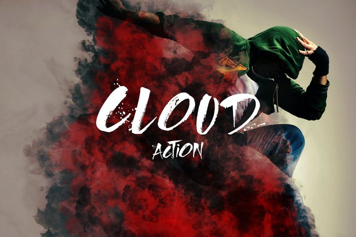 Thumbnail for Cloud Photoshop Action