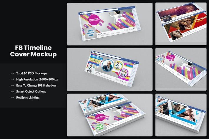 Thumbnail for FaceBook Timeline Cover / Banner Mockups