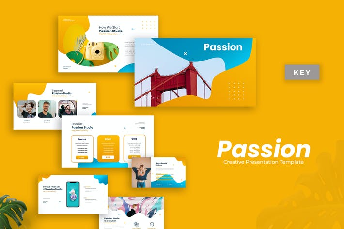 Passion - Creative Presentation Template