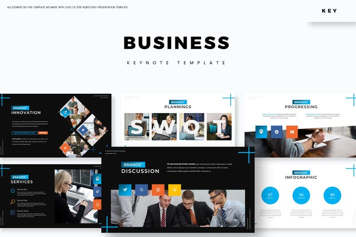 Thumbnail for Бизнес - Шаблон Keynote