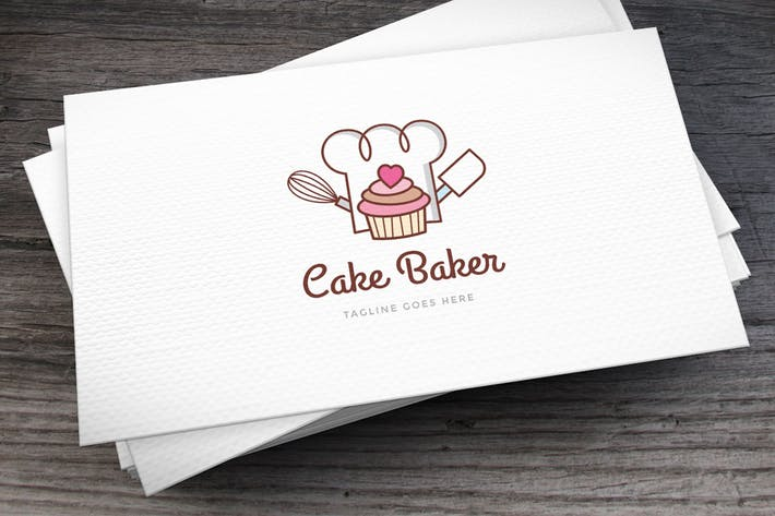 Thumbnail for Cake Baker Logo Template
