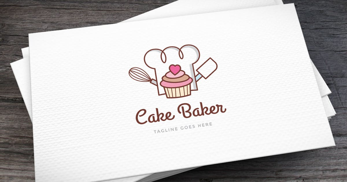 Download Cake Baker Logo Template by empativo