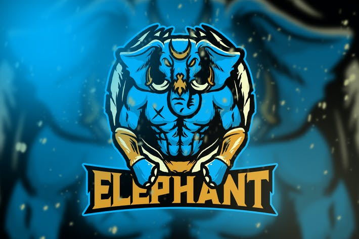 Elephant Esport Logo Vol. 5