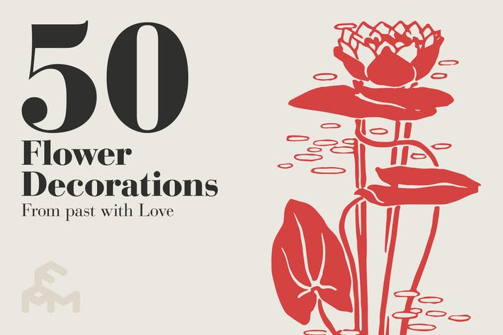 Thumbnail for 50 Flower Decorations