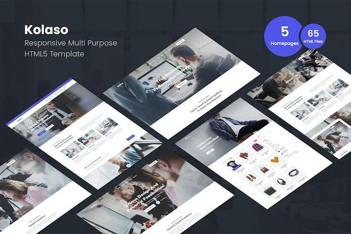 Thumbnail for Kolaso - Plantilla Moderno multiusos HTML5